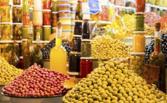 Fresh olive oil in Morocco