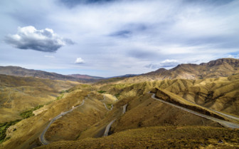 Mountain roads Morocco