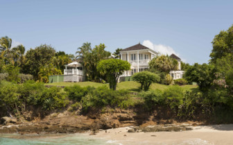 View of Cotton House, Mustique