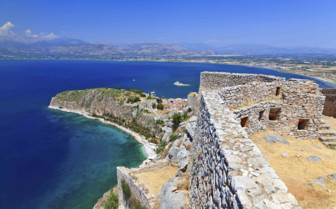 Peloponnese blue seas
