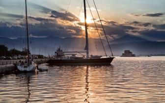 Yacht in Peloponnese