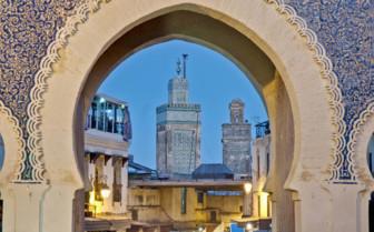 Architecture in Fez