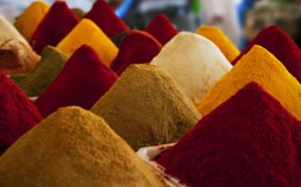 Spice market in Fez