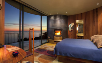 The pacific suite room at Post Ranch Inn