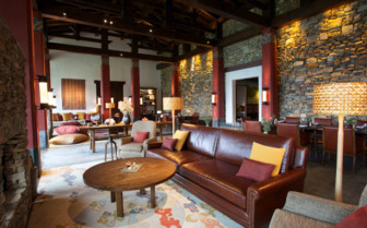 Communal area in the lodge
