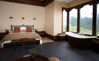 Guest room and view