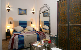 Riad Blanc bedroom