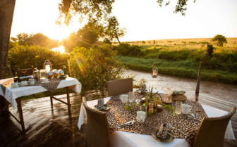 Dining by the river
