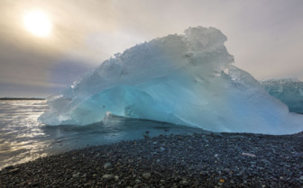 Jokulsarlon ice beach