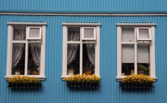 Traditional Nordic windows