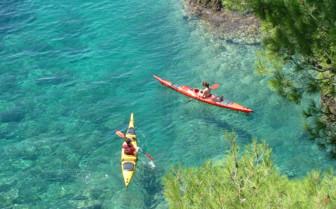 Kayaking the Dalmatian Coast