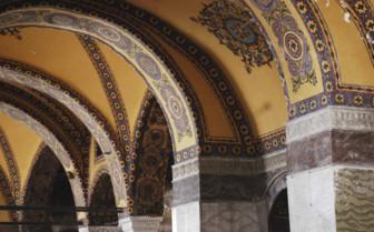 Hagia Sofia arches