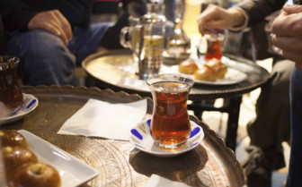 Sultanhamet mint tea