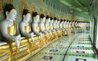 U Min Thouze Pagoda statues