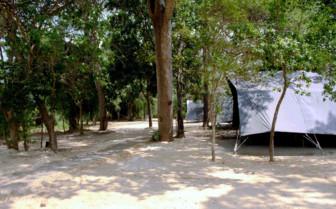 Tents at Leopard Trails, Yala