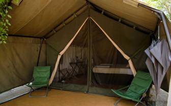 Tents at Yala Leopard Trails