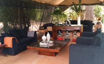 Camp Lounge, Leopard Trails