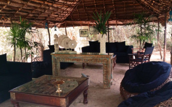 Communal Lounge, Leopard Trails Yala