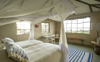 Mkombe House bedroom