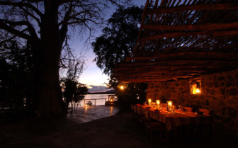 Sand Rivers Selous at night