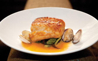 Four Seasons fish dish