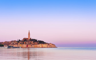 Istria sunset view