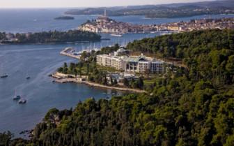 Monte Mulini on Istrian coast