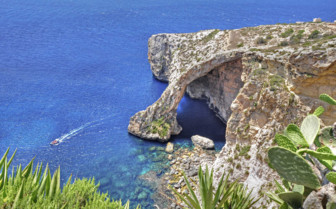 Blue Grotto in Gozo