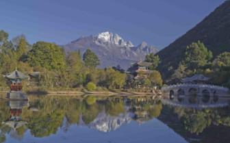 Black Dragon Lake in Lijiang