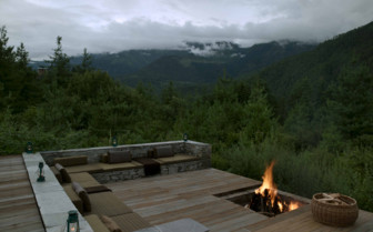 Bonfire at Amandayan