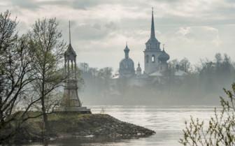 Nikolo Medvedsky monastery in New Lagoda