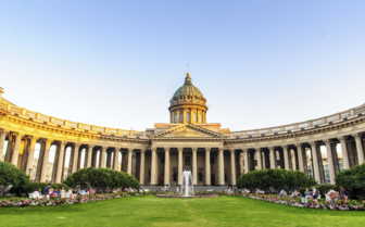 Kazan Cathedral in daylight