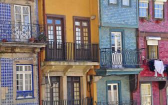 Multicoloured Building Facades