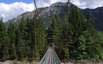 Bridge in the Lech Valley