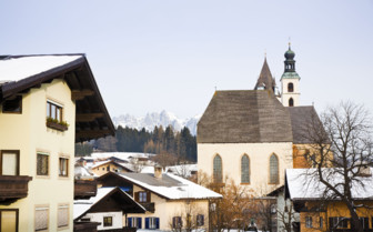 Kitzbuhel buildings