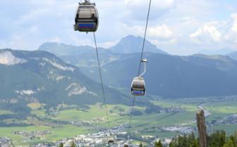 Chairlift in Kitzbuhel