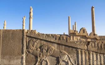 Persepolis stairway in Iran