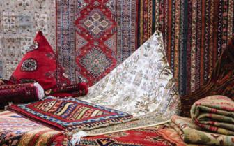 Persian carpets in Iran
