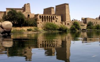 Aswan river