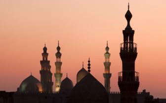 Minarets in Cairo