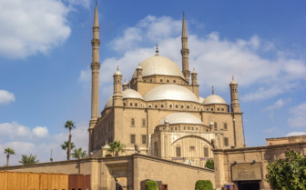 Mohammad Ali mosque in Cairo