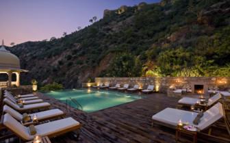 Swimming pool, Samode Palace