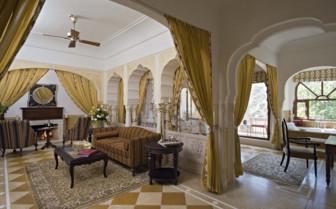 Royal Suite Lounge, Samode Palace
