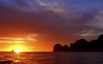 Sunrise in St Lucia