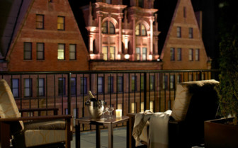 Barrymore suite terrace