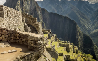 Inca walls close up