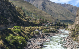 Urubamba Valley river