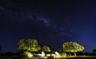 Linkwasha camp at night