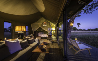 Guest tent overview