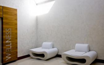 The wellness area at Monte Mulini hotel